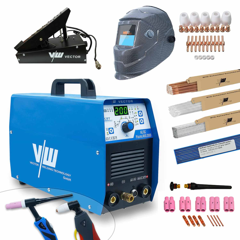 Welding equipment and plasma cutter 200D Set