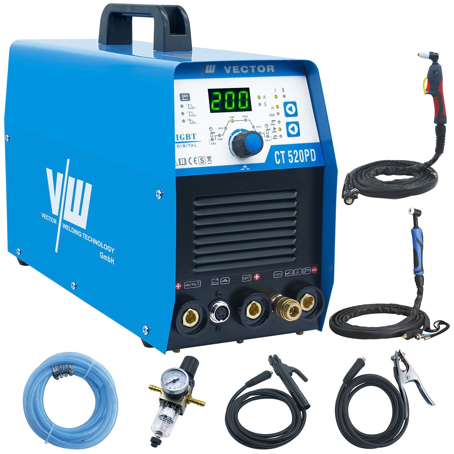 Welding equipment and plasma cutter CT520PD