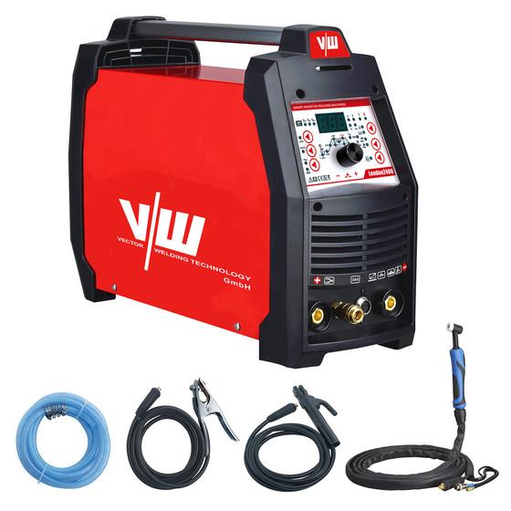 Ac Dc Tig Welder London 2400 200a Tig Alu Mma Vector Welding