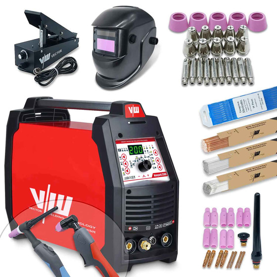 Welding equipment and plasma cutter new york 2500 Set
