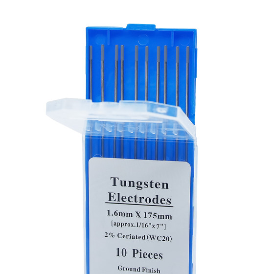 Tungsten electrodes 175 mm (10 pcs.)