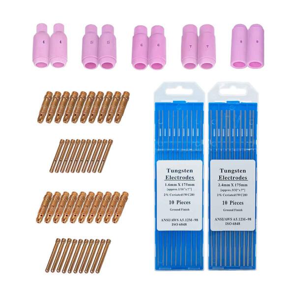 tig-soldadura-accesorios de soldadura-piezas-de-desgaste-repuestos-soldadura-vectorial