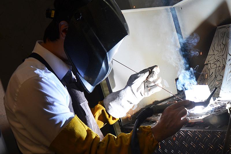 Schweißen mit Vector Welding